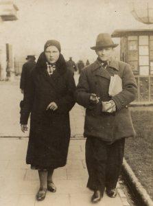 Fotografia rodziców Mariana Sawy: Marianny z domu Lipa i Franciszka Sawy