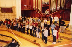 2003 Koncert Wielkoczwartkowy z Chórem UKSW