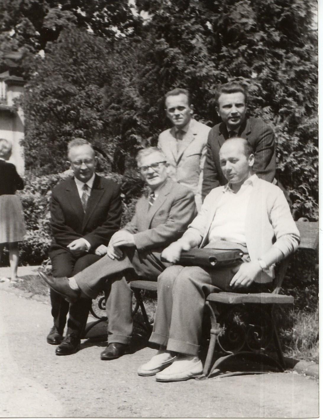 1963 z prof. Rączkowskim PWSM