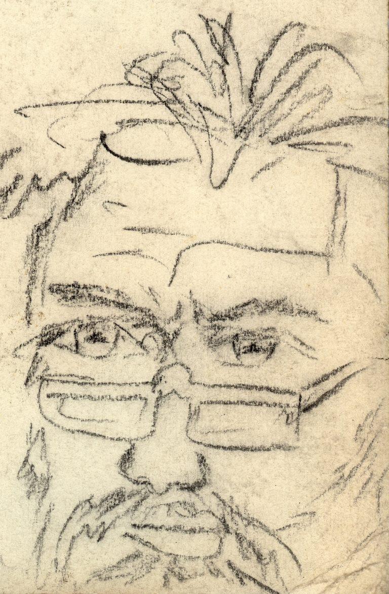 Marian Sawa - autoportret nr 2