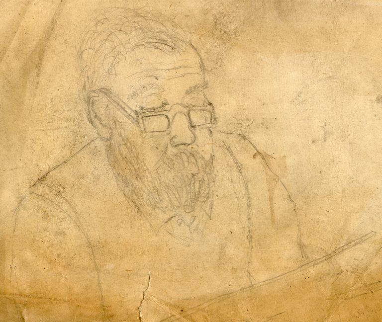 Marian Sawa - autoportret nr 4