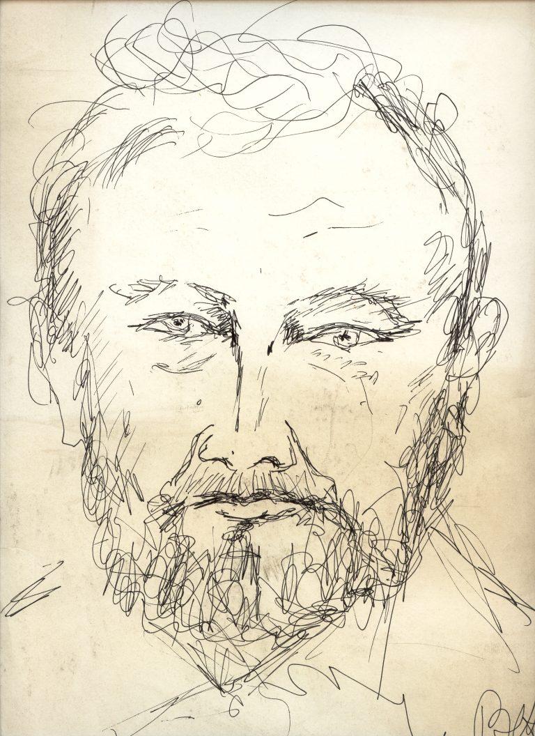 Marian Sawa - autoportret nr 6