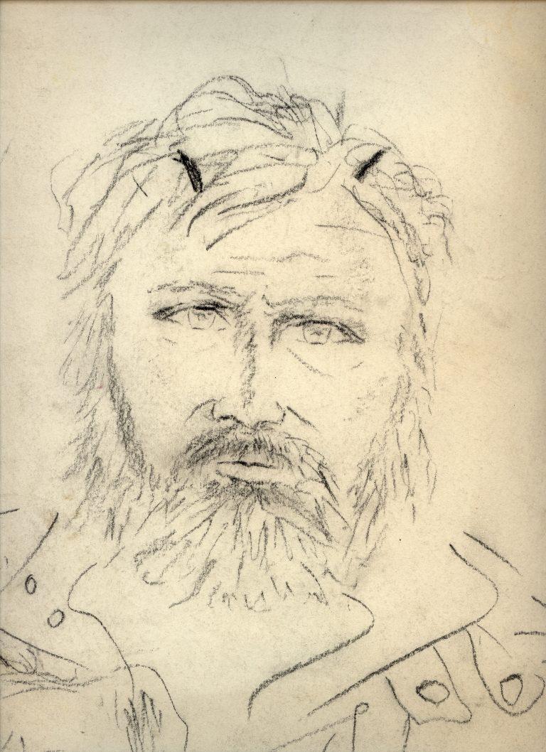 Marian Sawa - autoportret nr 5