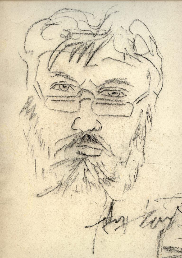 Marian Sawa - autoportret nr 3