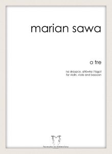 MARIAN SAWA - A TRE
