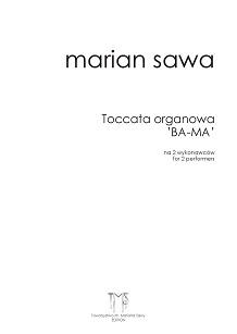 MARIAN SAWA - Toccata BA-MA